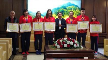 Quảng Ninh thưởng hơn 1,6 tỷ đồng cho các VĐV tham gia SEA Games 30