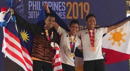 """SEA Games 30: VĐV Philippines phá 4 kỷ lục thế giới nhờ môn... """"lạ"""""""