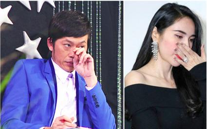 """Thủy Tiên khóc vì bị anti-fan """"tẩy chay"""" gay gắt: Hoài Linh nói lời """"gan ruột"""""""