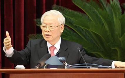 Tổng Bí thư nêu kết quả và chỉ ra hạn chế trong lãnh đạo của Trung ương, Bộ Chính trị, Ban Bí thư