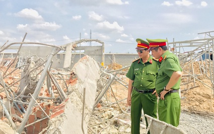 Vụ sập công trình 10 người chết ở Đồng Nai: Công an xác định có dấu hiệu hình sự