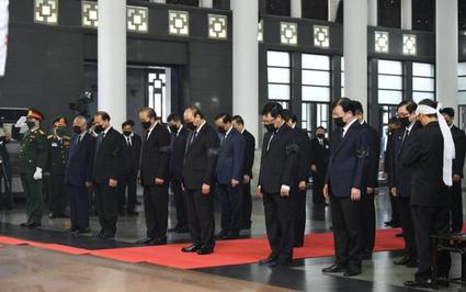 Quốc tang nguyên Tổng Bí thư Lê Khả Phiêu