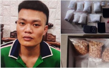 """Triệt phá """"đại lý"""" ma túy số lượng lớn tại Hà Nội"""
