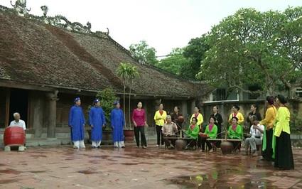 """Chuyện người mắc bệnh nan y """"hồi sinh"""" nghệ thuật hát trống quân ở Liêm Thuận"""