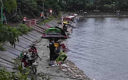 Hà Nội: Ngang nhiên tổ chức câu cá săn thưởng trăm triệu ở hồ Định Công