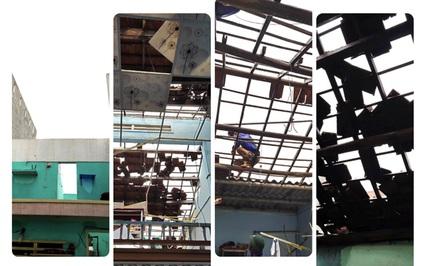 Quảng Ngãi: Lốc xoáy ập vào giữa đêm, cuốn bay 45 mái nhà dân