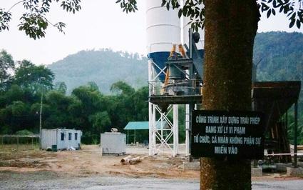 Trạm trộn bê tông trên đất nông nghiệp ở Bắc Kạn: Sẽ cưỡng chế nếu không tự tháo dỡ