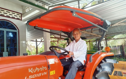 Kiên Giang: Lão nông Tư Xì Dầu liên kết làm lúa sạch, thành tỷ phú lại đỡ đầu nhiều học sinh nghèo