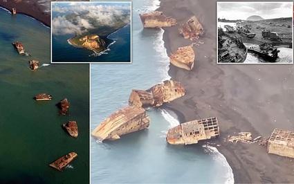 Những 'con tàu ma' bị chìm 80 năm trước trong Thế chiến 2 bất ngờ nổi lên