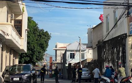 Bà Rịa - Vũng Tàu: Nhiều cảnh sát bao vây, khám xét Công ty Hà Lộc nghi liên quan đường dây xăng giả