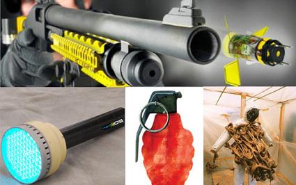 5 vũ khí không gây sát thương nhưng cực kỳ lợi hại trong quân đội