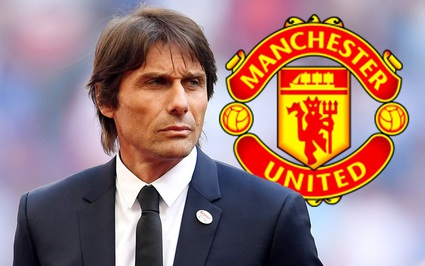 Từ chối Barcelona, Tottenham và Newcaslte, HLV Conte chỉ chờ M.U