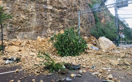 """Sạt lở núi Bà Hỏa ở Quy Nhơn: """"Chỉ kịp nghe tiếng ầm, đá rớt xuống, một số người bị văng ra"""""""