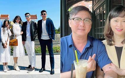 """Gia đình """"điểm 10"""" của HLV Lê Huỳnh Đức: Vợ đẹp, 2 con lớn du học nước ngoài"""