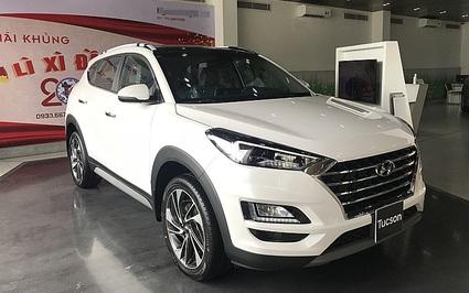 Hyundai Tucson xả kho giá sốc cùng loạt đối thủ ưu đãi hấp dẫn kích cầu cuối năm