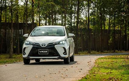 Giá lăn bánh cụ thể từng phiên bản Toyota Vios 2021