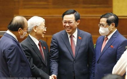 Những quyết định đặc biệt trong kỳ họp đầu tiên của Quốc hội khóa XV