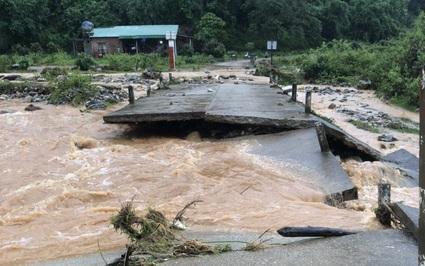 Kon Tum: Bão số 5 gây ngập lụt, chia cắt nhiều tuyến đường, 1 người tử vong do nước lũ cuốn trôi