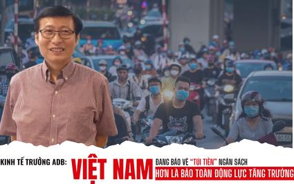 """Kinh tế trưởng ADB: Việt Nam đang bảo vệ """"túi tiền"""" ngân sách hơn là bảo toàn động lực tăng trưởng"""