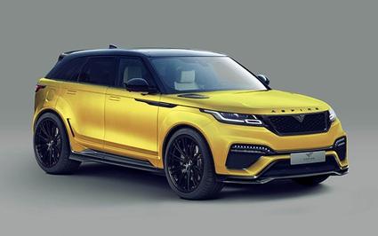 """Range Rover Velar cực """"ngầu"""" với gói độ thân rộng Aspire Design"""