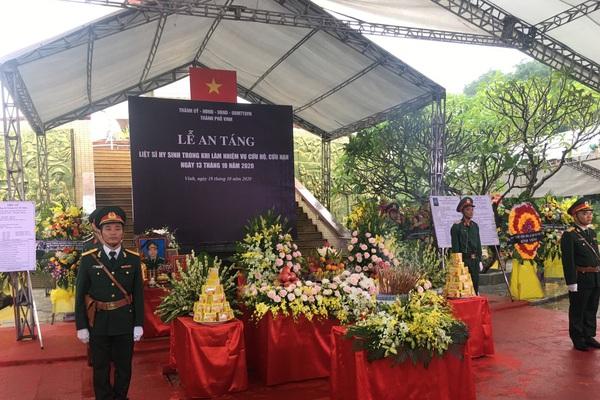 Nghệ An: Những giọt nước mắt tại lễ an táng liệt sĩ khi cứu hộ tại Thủy điện Rào Trăng 3