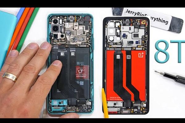 """""""Mổ xẻ"""" chiếc điện thoại cao cấp OnePlus 8T, ngỡ ngàng những chi tiết"""