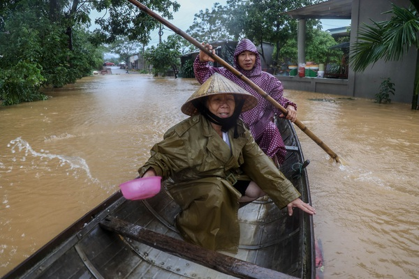 Trận lũ lớn nhất kể từ năm 1979 ở nơi ngập sâu nhất Quảng Bình