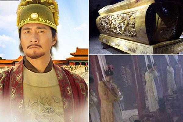 Ly kỳ tiếng khóc bên trong lăng mộ hoàng đế Chu Nguyên Chương