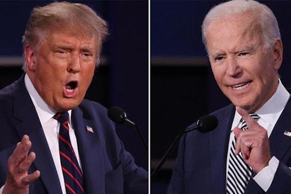 """Trực tiếp Trump-Biden xuất trận """"đấu khẩu"""" dữ dội trong cuộc tranh luận cuối cùng"""
