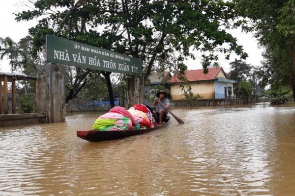 Ảnh hưởng bão số 8, đêm nay, 24/10, Nghệ An - Thừa Thiên Huế lại có mưa