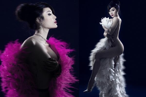 Phương Trinh Jolie khoe vóc dáng bốc lửa trong bộ ảnh bán nude táo bạo
