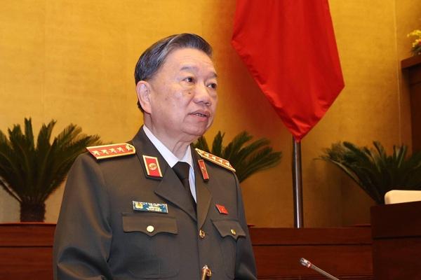Bộ trưởng Tô Lâm: Tội phạm về tham nhũng ít hơn năm ngoái