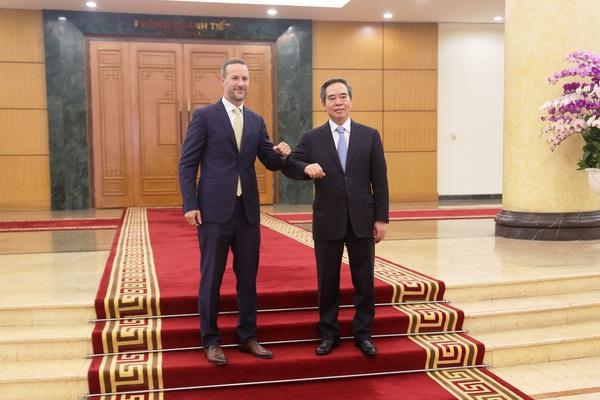 Trưởng ban Kinh tế Trung ương Nguyễn Văn Bình: Việt Nam luôn coi trọng quan hệ đối tác toàn diện với Hoa Kỳ