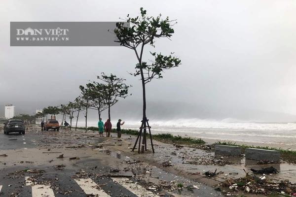 TRỰC TIẾP bão số 9: Tâm bão đang trên đất liền Quảng Nam, Quảng Ngãi