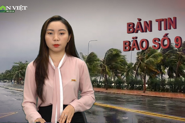 Bản tin thời sự Dân Việt 28/10: Vừa đổ bộ đất liền miền Trung, bão số 9 Molave đã tàn phá nặng nề
