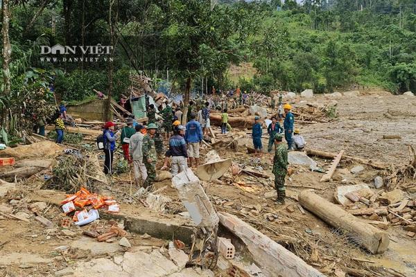 Quảng Nam: Nghe người trong cuộc kể về vụ sạt lở kinh hoàng ở Trà Leng