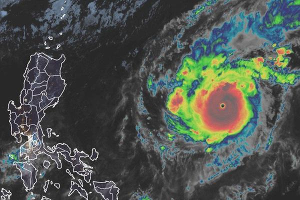 Bão số 10 - Goni là cơn bão mạnh nhất năm 2020, sẽ đổ bộ vào Việt Nam ngày 4/11