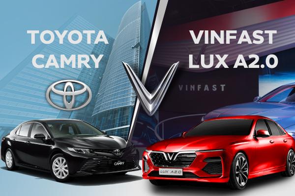 VinFast Lux A2.0 và Toyota Camry cùng tầm giá hơn 1 tỷ nhưng đừng lầm tưởng điều này