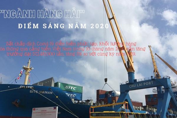 """Hàng hải """"điểm sáng"""" nền kinh tế giữa đại dịch Covid-19 năm 2020"""