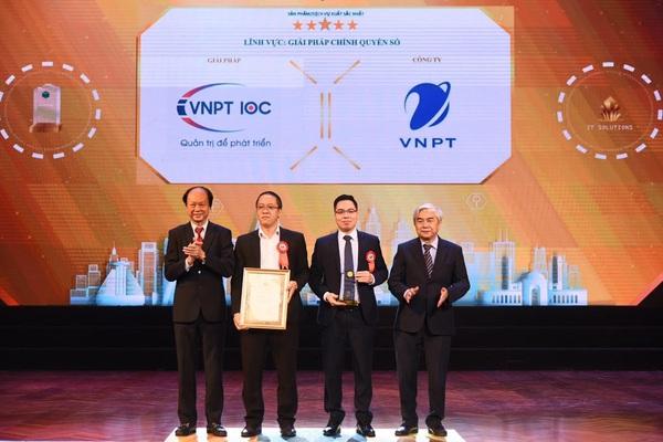VNPT là doanh nghiệp xuất sắc cung cấp giải pháp CNTT cho thành phố thông minh
