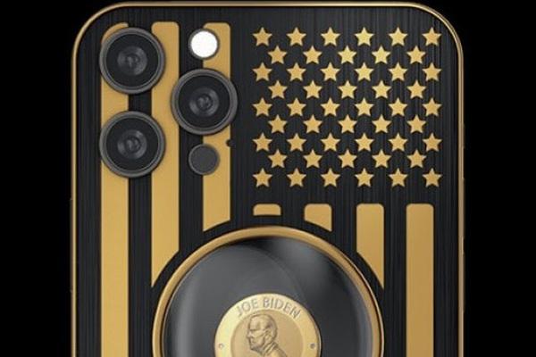 """iPhone 12 Pro phiên bản """"Biden & Trump"""", giá bán ngang xe Toyota Vios"""