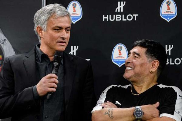 Mourinho tiết lộ câu chuyện xúc động về Maradona