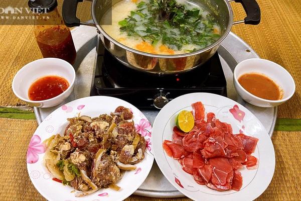 Cách làm món bò nhúng mẻ lá tía tô đơn giản, dậy mùi thơm, chua ngọt đủ vị