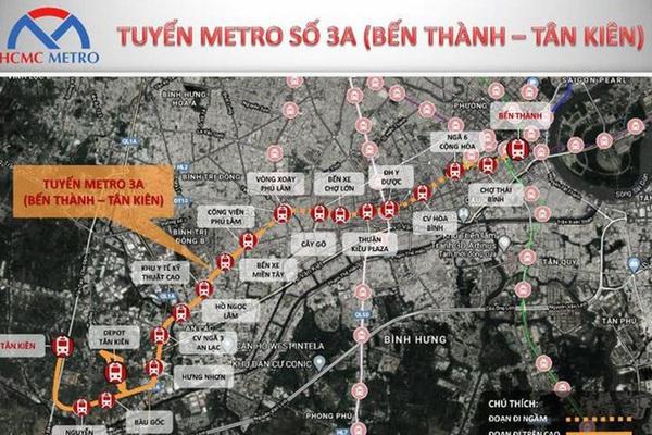 Năm 2026, TP.HCM tiếp tục mở thêm tuyến đường sắt đô thị hơn 3 tỷ USD Bến Thành - Tân Kiên