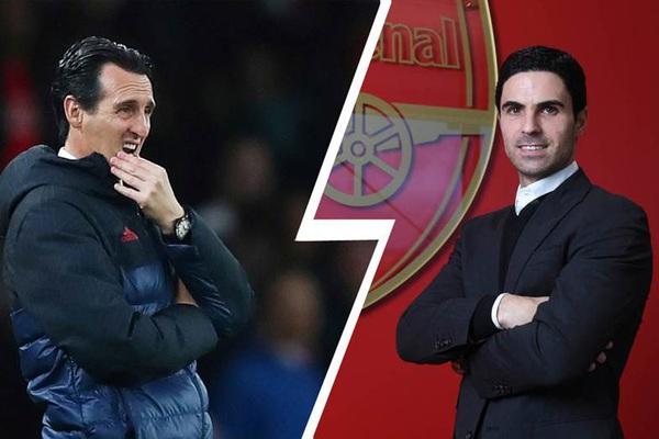 Thành tích của Arteta tệ hơn nhiều so với Emery: Arsenal đã thất bại?
