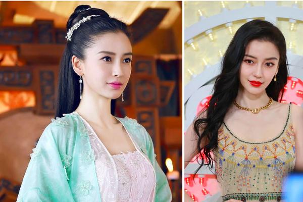 """Mỹ nhân phim cổ trang Trung Quốc mặc váy quyến rũ hút mắt bất chấp ảnh """"chụp lén"""", fan ngất ngây"""