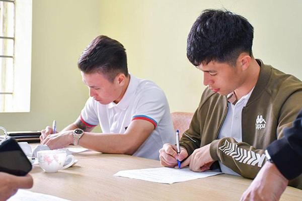 Nhận học bổng quản trị kinh doanh, nhưng Quang Hải theo học ngành nào?
