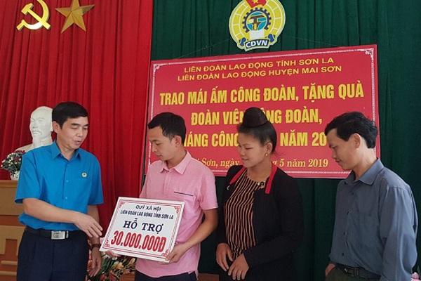 """Nông thôn mới Sơn La:  """"Mái ấm Công đoàn"""", nơi chan chứa nghĩa tình"""