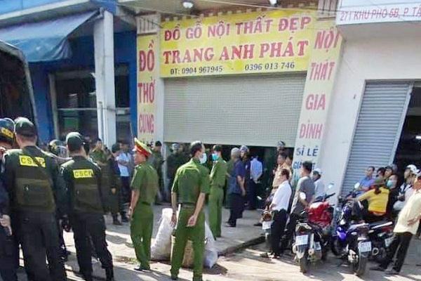 Gần 100 cảnh sát kiểm tra cơ sở cai nghiện 'chui' ở Đồng Nai