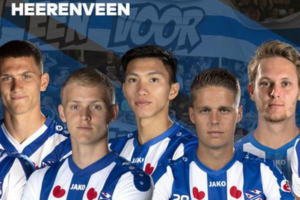 Đoàn Văn Hậu khiến SC Heerenveen mừng vui ra mặt